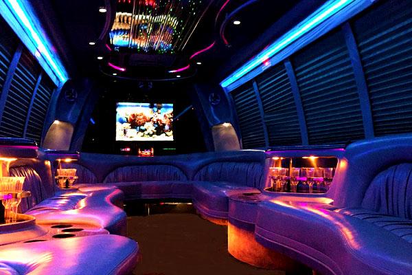18 passenger party bus rentals fort wayne
