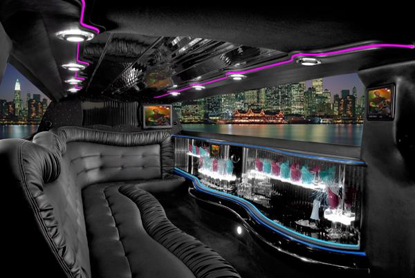 Chrysler 300 limo interior fort wayne