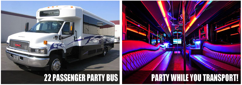 Charter Bus Party bus rentals Fort Wayne
