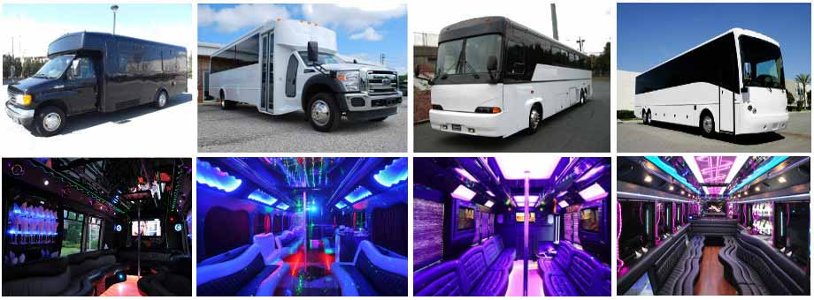 Charter Bus Party buses Fort Wayne