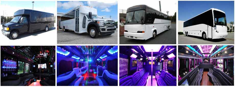 Wedding Transportation Party buses Fort Wayne